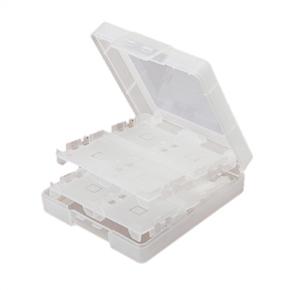 16-in-1 Durable Plastic Game Card Storage Case Holder Box for Nintendo 3DS /DSi /DSi XL /DS Lite (White)