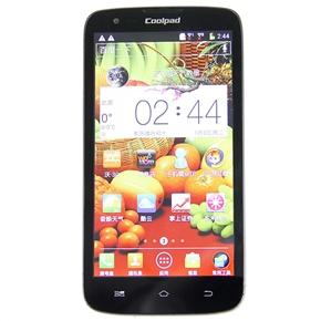 Coolpad 7295 MTK6589 Quad-core 5.0-inch QHD Screen 1GB/4GB Android 4.1 GPS Dual-camera 3G Smartphone (Black)