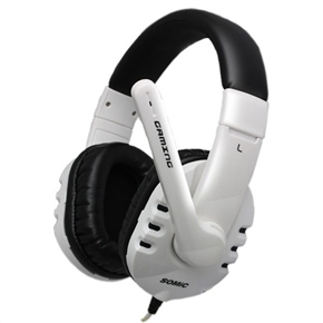 SOMiC G927 Professional Head-band Type USB Stereo Gaming Headset Headphone with Microphone (White)