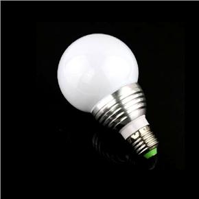 E27 5W AC 85V-265V Remote-controlled 16-color Changing RGB LED Light Lamp Bulb