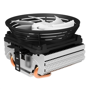 PCCooler Q101 Super-silent CPU Cooler with 100mm Detachable Fan for Intel & AMD (White)