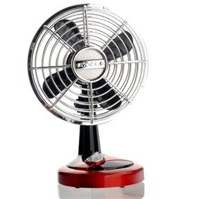 No.688B 4 * AA /USB Powered 2-mode Electric Mini Oscillating Fan Cooling Fan