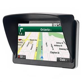 Universal Anti-reflective Sunshade Sunshine Shield for 7-inch Car GPS Navigator (Black)