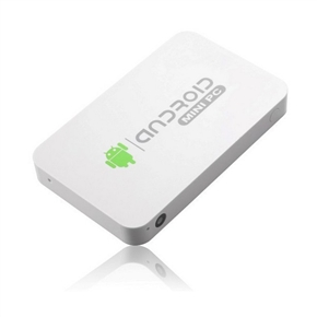 MK812A Android 4.1 RK3188 Quad-core 1GB/8GB Android TV Box with WiFi /Bluetooth /Camera /HDMI /USB /TF Slot (White)
