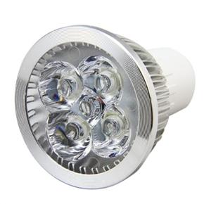 Energy-saving GU10 85V-265V 4W 380-lumen 4-LED Ultra Bright White Light LED Bulb Spotlight - 12 pcs/set