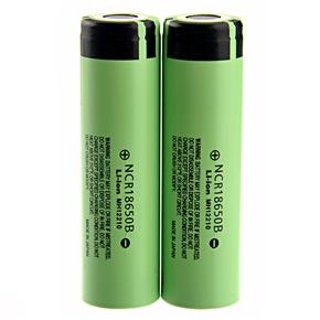 High-performance 3.7V 3400mAh NCR 18650B Rechargeable Li-ion Battery - One Pair