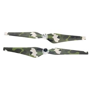 2 Pairs of 9443 Self-locking Propeller Nylon Props CW CCW for DJI Phantom 2 Vision (Camouflage)