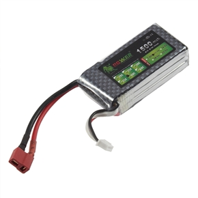 Lion Power 11.1V 1500mAh 40C Rechargeable Lipo Battery T Plug for RC Car Helicopter Airplane