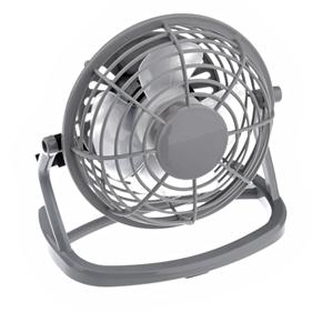 Fashionable Mini usb port fan Grey