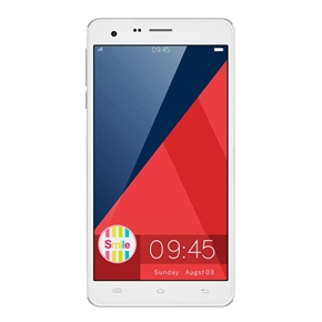 Cubot S222 Android 4.4 MTK6582 Quad-core 1GB/16GB 5.5-inch HD IPS Screen Dual-camera GPS 3G Smartphone (White)