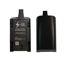 1600mAh 11.1V High Capacity Upgrade Rechargeable Battery Pack Replacement for Parrot Bebop Drone 3.0 (Black)