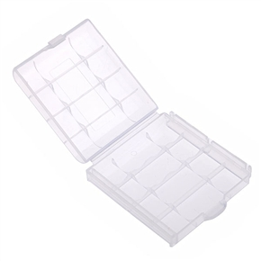 Transparent Battery Box Holder Portable Battery Shell