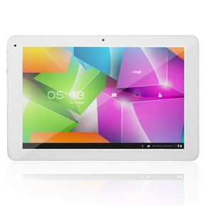 Cube U30GT Dual-Core 1.6GHz Quad-Core GPU 1GB/16GB Android 4.0 Dual-camera 10.1-inch Capacitive Tablet PC (All White)