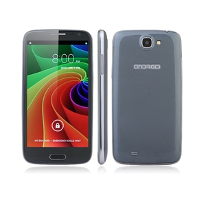 Star N9500 Android 4.2 MTK6589 Quad-core 5.0-inch HD Screen 12.0MP Camera GPS 1GB/4GB 3G Smartphone with EU-plug Power Adapter (Black)