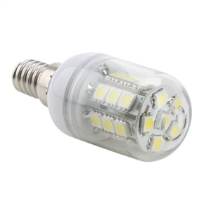 E14 3.5W AC 230V 27 SMD 5050 300LM 5500-6500K Natural White LED Corn Bulb Light Lamp