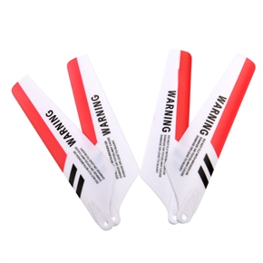 Syma Airplane Parts Accessory Red Blades for Syma S107 Remote Control Airplane (4 Pieces)