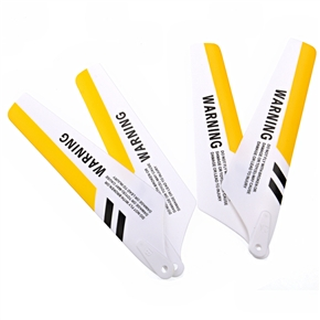 Syma Airplane Parts Accessory Yellow Blades for Syma S107 Remote Control Airplane (4 Pieces)
