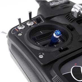 M3 3mm Metal Transmitter Stick Anti-slipping Caps for Futaba /Walkera /JR Transmitter - One Pair (Blue)