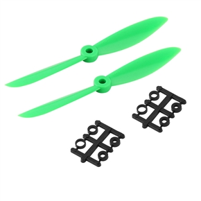2 Pairs of 6*4.5 6045 CW CCW Props Propellers for RC Quadcopter (Green)
