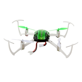 8951 2.4GHz 4CH 6-Axis Gyro 360-degree Eversion Remote Control RC Quadcopter UFO (Green)