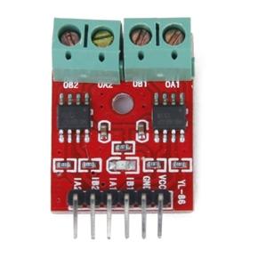 DC 2.5-12V Dual DC H-bridge Stepper Motor Driver Controller Board Module