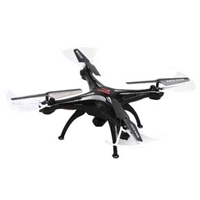 Syma X5SC 2.4GHz 4CH 6-Axis Gyro 360-degree Eversion Remote Control RC Quadcopter UFO RTF with 2.0MP HD Camera /4GB TF Card (Black)