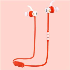 VEGGIEG V7100 Sports Wireless Bluetooth 4.0 Earphone Headphone with Mic for iPhone Samsung Nokia Xiaomi (Orange)