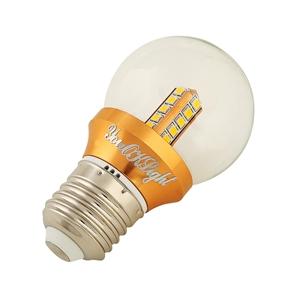 YouOKLight E27 4W AC 85-265V 360LM 20 SMD 2835 3000K Golden LED Globe Bulb Lamp Light (Warm White)