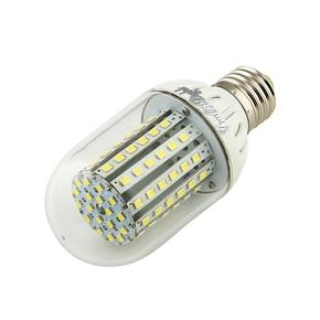 YouOKLight E27 5.5W DC 8-16V 500LM 90 SMD 3528 6500K LED Corn Bulb Lamp (White)