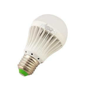 YouOKLight E27 5W AC 90-265V 450LM 10 SMD 5730 6000K IR Induction LED Globe Bulb Lamp Light (White)