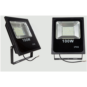 100W LED Flood Lights Waterproof IP65 Outdoor Light 10000LM Floodlight White 4000K-5500K