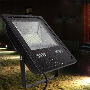 50W LED Flood Lights Waterproof IP65 Outdoor Light 5000LM Floodlight White 4000K-5500K