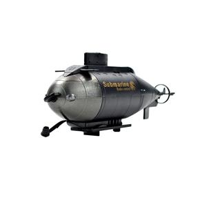 6CH Mini Radio Remote Control RC Three Propellers Submarine Toy (Random Color)