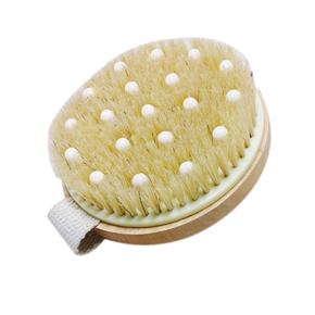 Bath Shower Bristle Brush Massage Body Brush with Band