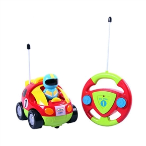 Cartoon RC Race Car Radio Control Toy for Toddlers