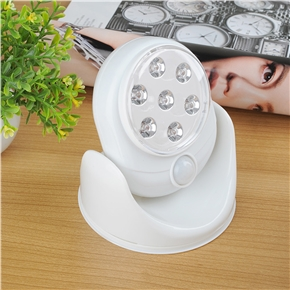 LED Cordless Motion Activated Sensor Light Lamp 360 Degree Rotation Wall Lamps Porch Light For Indoor and Outdoor with Light Control
