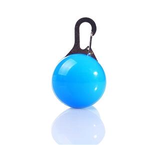 Pet Blinker Dog Cat Safety Blinker Collar Light (Blue)