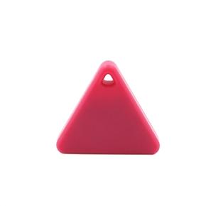 Pet Child Wallet Key Finder GPS Locator Alarm Bluetooth Smart Mini Tag Tracker (Pink)