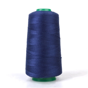 Spool of Jeans 20S/2 Sewing Thread for Sewing Machine (Dark Blue)