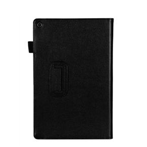Tablet Protective Cover Slim Folding Cover Case for Sony Tablet Z (Black)