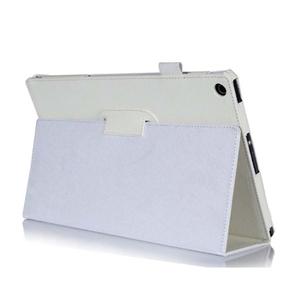 Tablet Protective Cover Slim Folding Cover Case for Sony tablet Z (White)