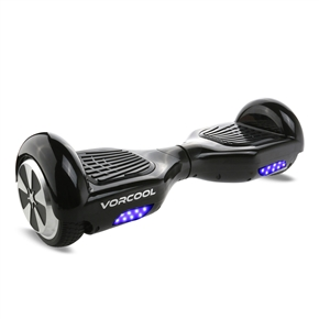 VORCOOL Two Wheels Electric Drifting Board Smart Self Balancing Scooter with Carry Bag / LED Light / US-plug Power Adapter (Black)