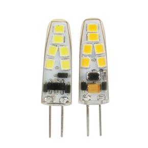 12V G4 1.5W SMD 2835 12-LED Light Bulb (Warm White+White)
