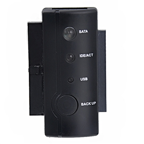 High Quality SATA/IDE to USB 2.0 Adapter Kit (Black)