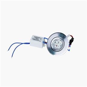 3W AC 85-265V 6000-6500K LED Ceiling Light Bulb Lamp (White)
