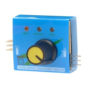 4.8V-6V 3-Channel CCPM Servo Consistency Master Automatic Servo /ESC Tester