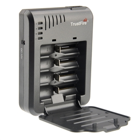 TrustFire TR-003P4 Multifunction Cylindrical Li-ion Battery Fast Charger for 10440 /14500 /16340 /17670 /18500 /18650