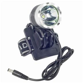 Waterproof CREE XM-L T6 1800 Lumens LED Bicycle Headlight Light with Adjustable Headband (Black)