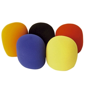 5pcs Handheld Stage Microphone Soft Foam Mic Windshileds Microphone Windscreens Covers in Different Colors