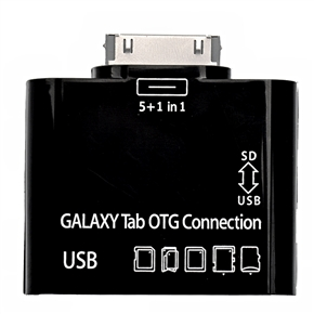 TF Card Reader Kit with USB Port for Samsung Galaxy Tab OTG Connection